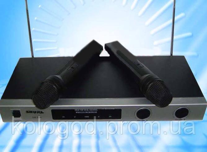 Радиосистема Shure AK 530 Микрофон 2 шт am