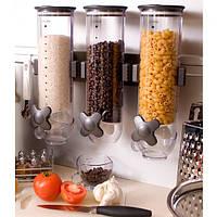Диспенсер для пищи SmartSpace (3 емкости в комплекте), фото 1