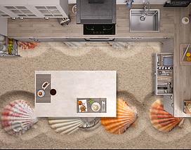 Наливной пол с изображением, 2х2м (любой размер), фото 3
