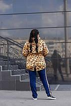 Парка женская  Феррари батал+, фото 2