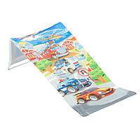 Горка для купания Tega Cars CS-026 (сетка) 120 blue