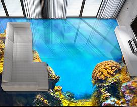 Пол с изображением, 2х2м (любой размер), фото 2