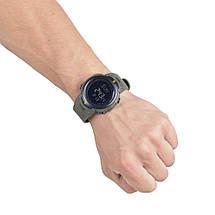 Часы тактические с компасом оливковые, фото 3