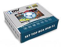 Цифровой Телевизионный Приемник Ресивер Тюнер Т2 WiFi DVB- HDTV Digital Terrestrial Receiver Приставка Т2, фото 1
