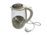Электрический Стеклянный Чайник MS 8114 Электрочайник, фото 1