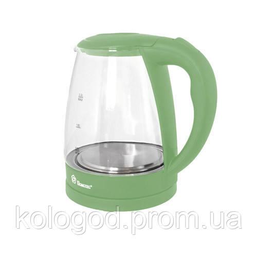 Электрический Чайник Domotec MS 8212 Электрочайник Стеклянный