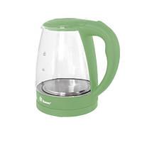 Электрический Чайник Domotec MS 8212 Электрочайник Стеклянный, фото 1