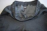 Чоловічі брюки утеплені - трикотаж-начіс.Чорні, фото 4