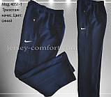 Чоловічі брюки утеплені - трикотаж-начіс.Чорні, фото 8