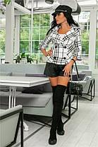 Женский Жакет (141)722. (4 цвета) Ткань: букле +подкладка. Размеры :44,46,48,50. , фото 2
