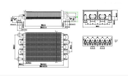 1.024398 Теплообменник битермический Immergas, Alpha, фото 2