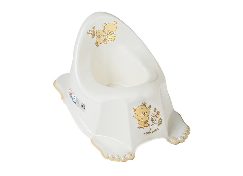 Горщик Tega Teddy Bear MS-013 нековзний 118 white pearl