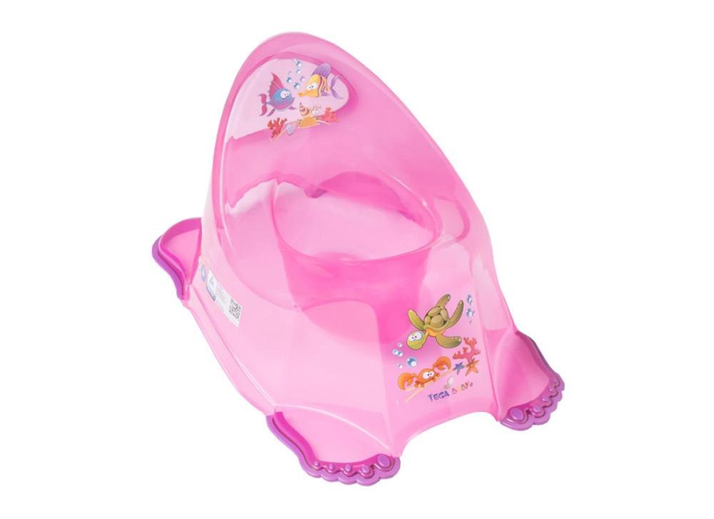 Горшок Tega Aqua AQ-007 нескользящий 117 pink