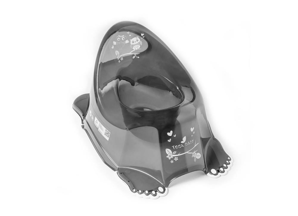 Горшок Tega Owl SO-001 нескользящий 158 black