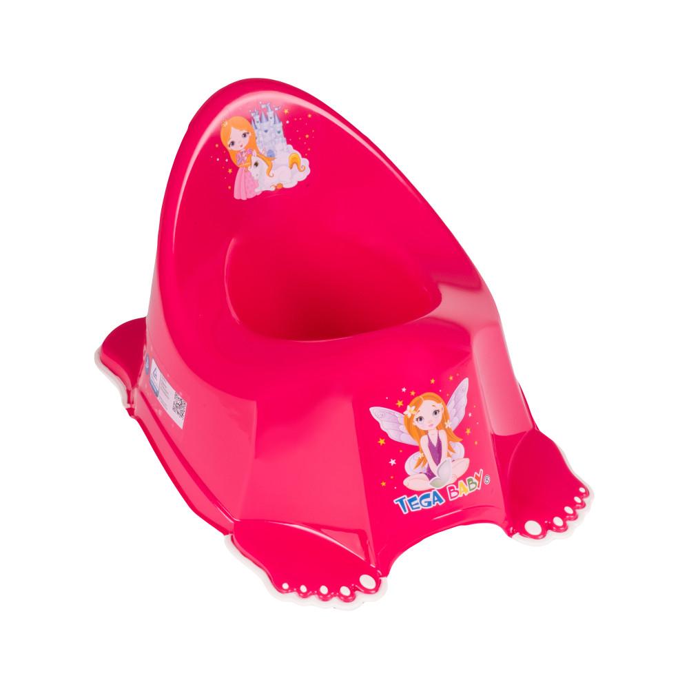 Горшок Tega Little Princess LP-001 нескользящий 123 pink