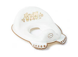 Накладка на унітаз Tega Teddy Bear MS-016 нековзна 118 white pearl