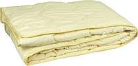 """Одеяло силиконовое демисезонное 205х140 молочное чехол микрофайбер ТМ """"Руно"""""""