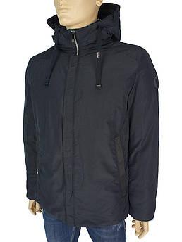 Мужская стильная куртка Malidinu М-A816 С:606 темно-синего цвета
