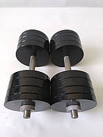 Гантели металлические 2 шт по 36 кг