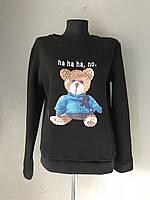 Женский теплый батник 1/10. Размер S, M, L. Молоко, черный, коралловый, фото 1