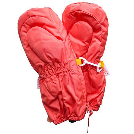 Детские зимние термокраги для мальчика и девочки от 1 года до 4 лет оранжевые, фото 2