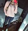 Свитер крупной вязки, чекер Турция. Размер единый 42/46. Цвета разные. (5104), фото 3