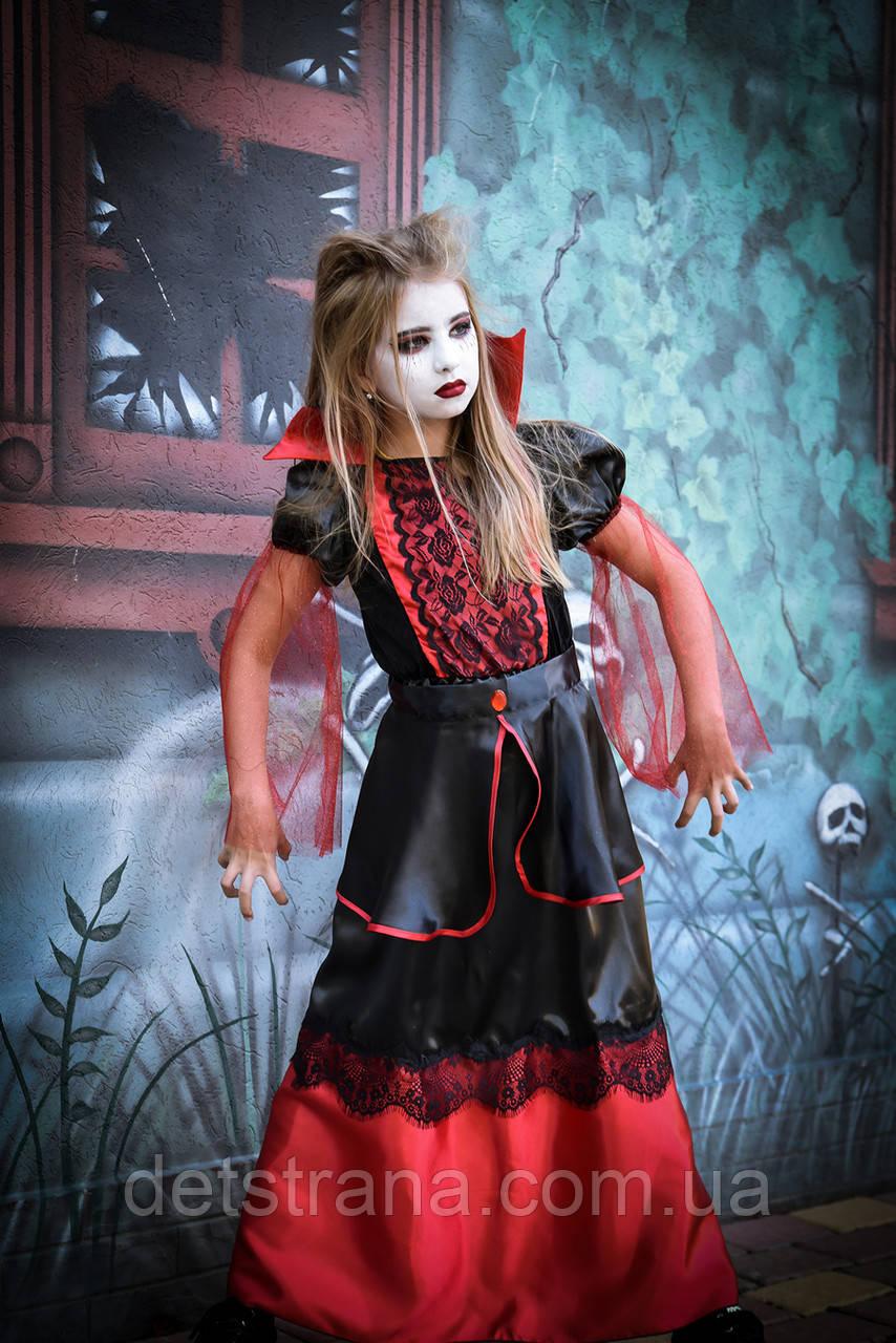 Карнавальный костюм для девочки Вампирша