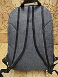 Рюкзак OFF WHITE  из меланжа городской мужской  ., фото 2