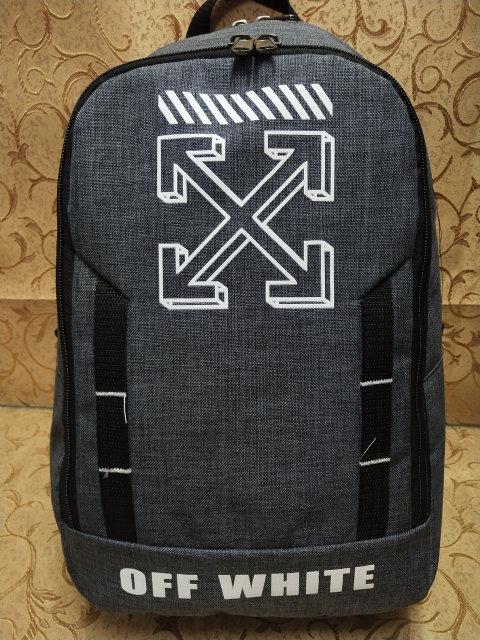 Рюкзак OFF WHITE  из меланжа городской мужской  .