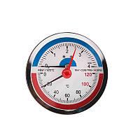 Термоманометр задн. подкл. 1/2 Ø80мм 120ºC 4 бар