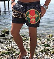 Модные шорты для пляжа гуччи
