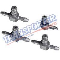 Комплект коннекторов топливной трубки Fiat Doblo 1.3MJTD/JTD 07-  55245385-1
