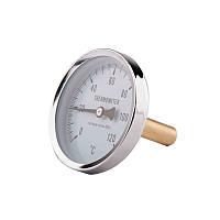 Термометр задн. подкл.1/2 Ø63мм 120ºC штуцер 40мм