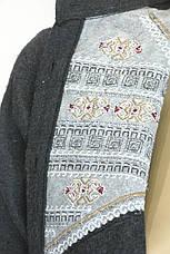 Жіноча сорочка з фланелі , фото 3