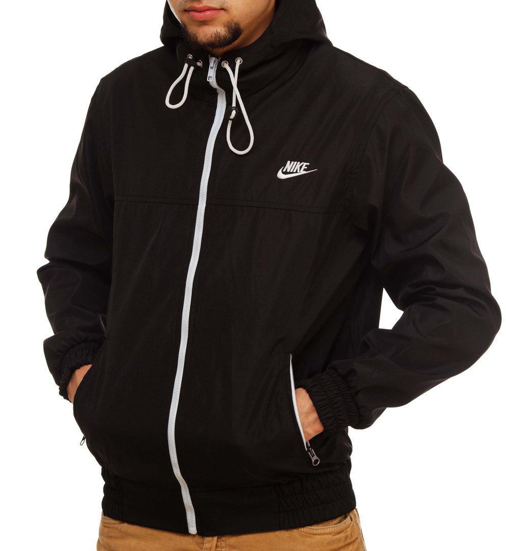 8e8840a5 Модная черная ветровка Nike, виндраннер найк - Интернет-магазин Fast-Buy в  Киеве