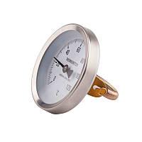 Термометр накладной Ø63мм 120ºC