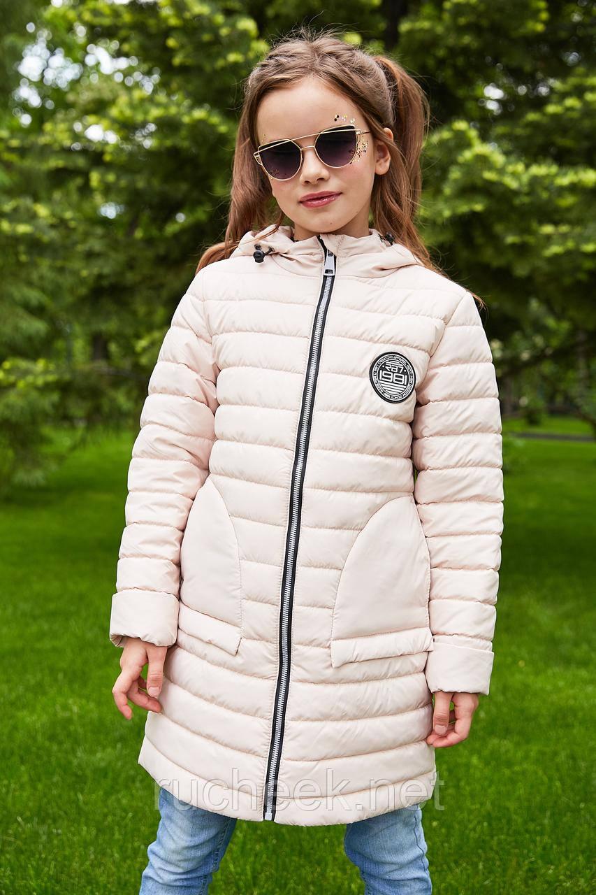 Модная куртка для девочки весна осень Полли рост 116 -146, Новая колле