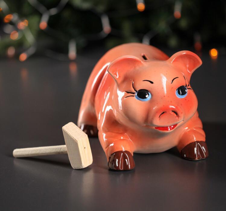 """Копилка """"Свинка в ассортименте"""""""
