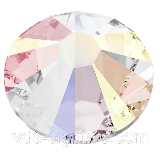 Камені Сваровські для нігтьового дизайну 2058 Crystal AB ss 6 ( 1.90-2.00 mm)