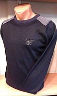 Джемпер мужской приталенный WOOLLENART под горло c лого