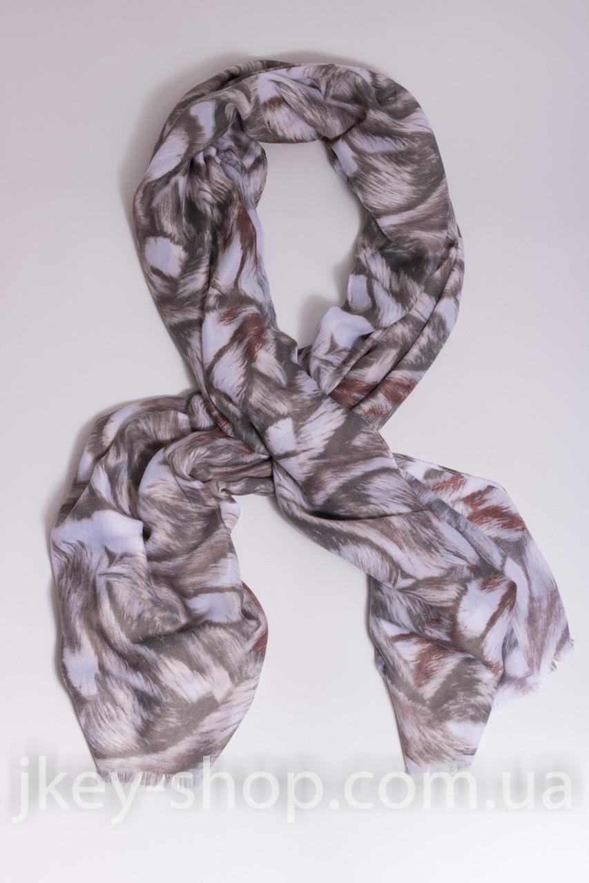 Шарф - платок женский ANOTHER SHARF S181-309 GREY