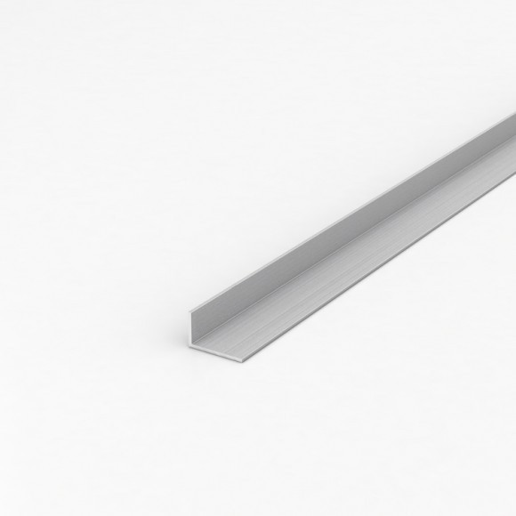 Кутник алюмінієвий 25х15х1,5 без покриття