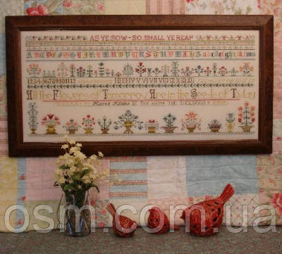Схема для вышивки Rosewood Manor As Ye Sow