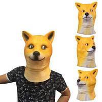 Маска латексная Собака, голова собаки, фото 1