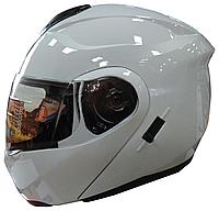 Мотошлем FXW HF-119 Белый глянец