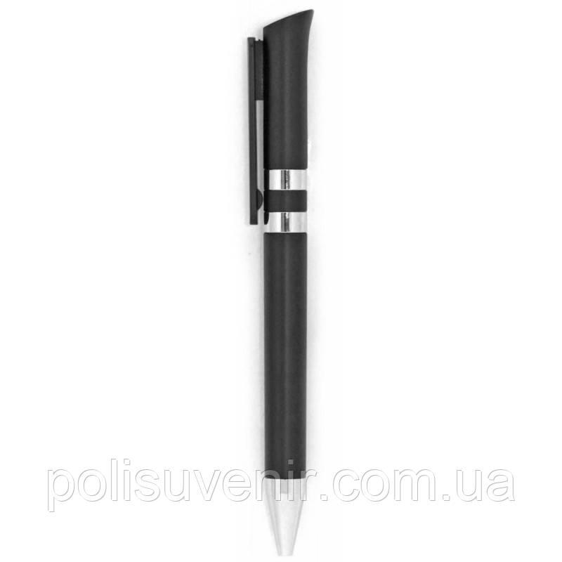 Двоколірна ручка матовий пластик