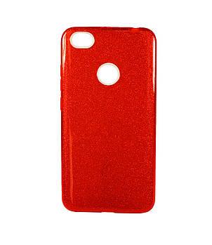 "Накладка Xiaomi Redmi Note 5a ""Shine"" Красная"