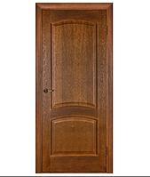 Дверное полотно Капри ПО без стекла шпон Омис