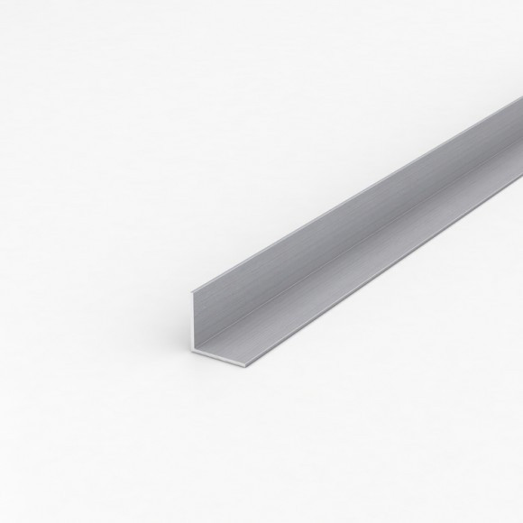 Кутник алюмінієвий 25х25х2 анодований