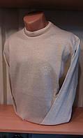 Свитер мужской приталенный WOOLLENART под горло с гербом
